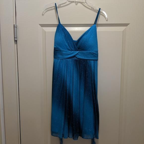 Ruby Rox Dresses & Skirts - Ruby Rox blue sparkly formal dress